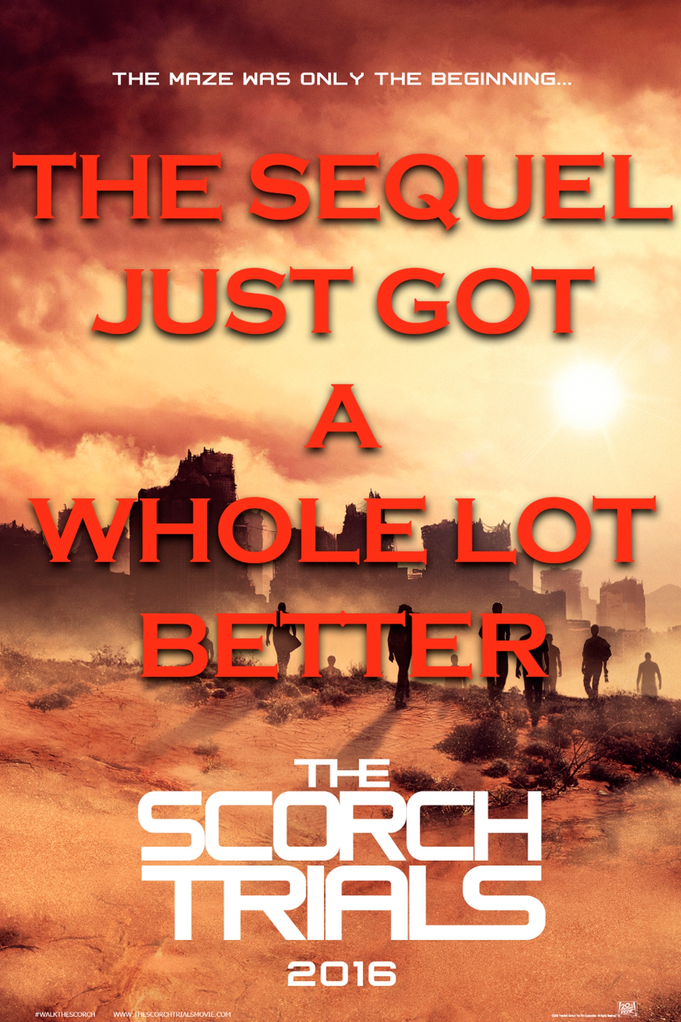 sci fi movie reviews maze runner the scorch trials film review